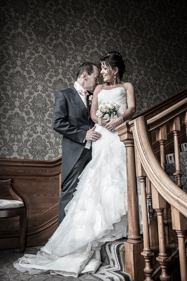 wedding photographer at brockencote hall