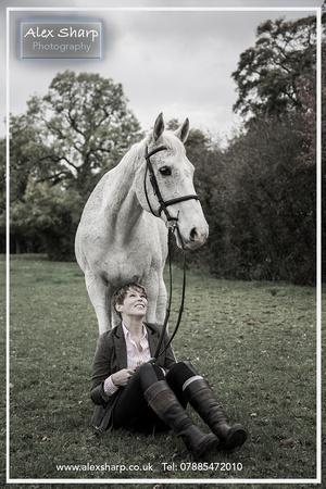 Horse photographer Worcestershire Alex Sharp