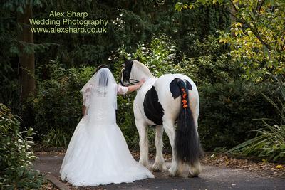 wedding photography old rectory house ipsley