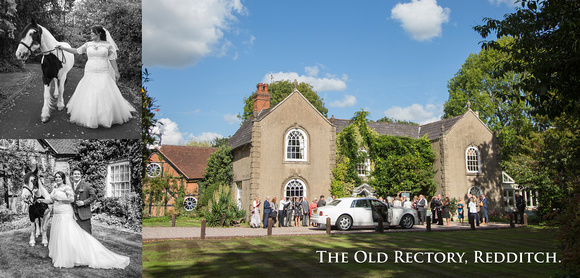 wedding photography the old rectory redditch