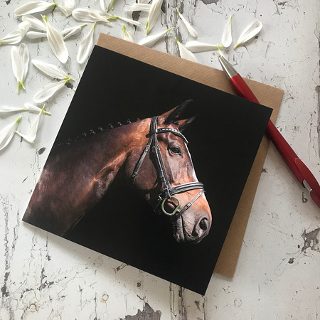 EGC012 Proud, Equestrian Greeting Card