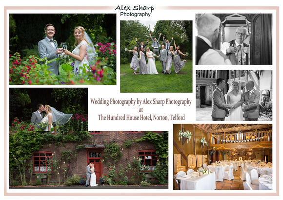 wedding photography hundred house hotel telford
