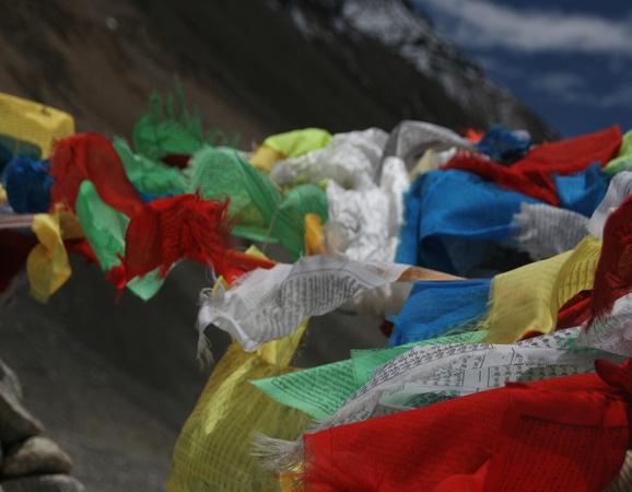 Prayer flags Fluttering