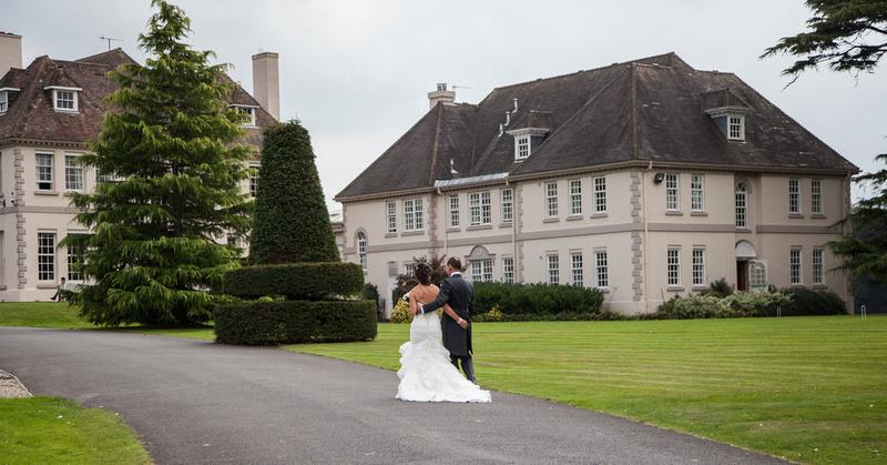 wedding photography Brockencote Hall
