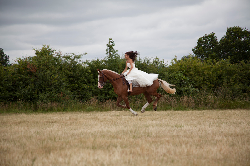 Equestrian wedding photographer