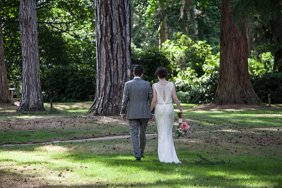 Arley arboretum wedding photographer