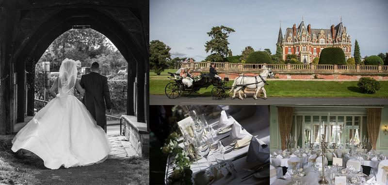 wedding photographer chateau impney