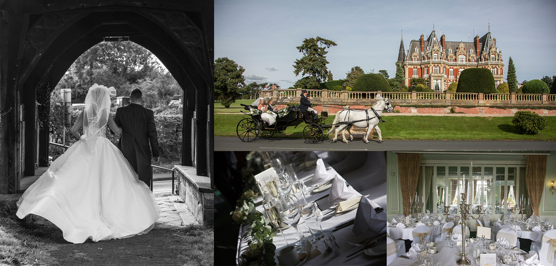 wedding photographer chateau impney